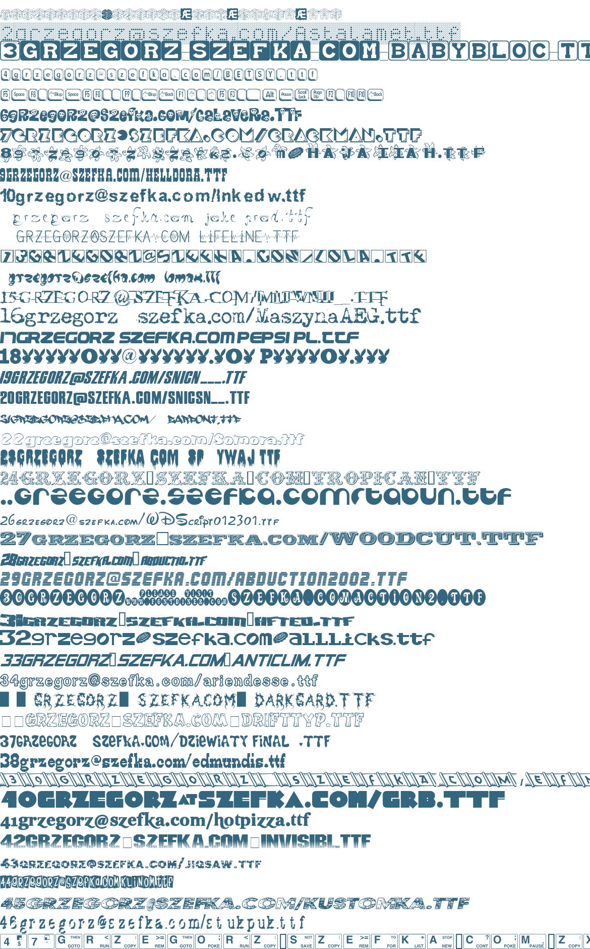 grzegorz na serwerze szefka kropka com
